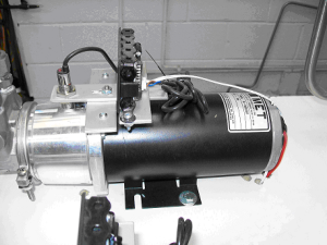 DC Hydraulic Pump Motors