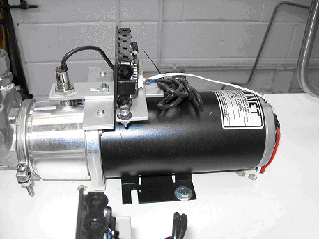 Dc hydraulic pump motors minnesota wisconsin met motors for Electric motor hydraulic pump